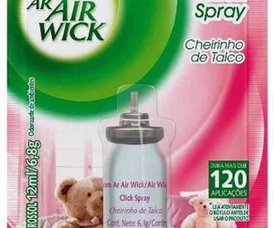 DESOD. AIR WICK TALCO 12ML REFIL