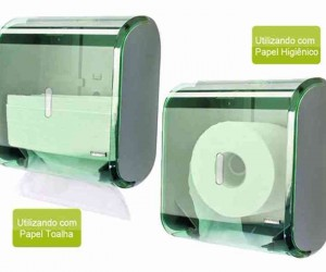 DISPENSER MULTIPLO URBAN GLASS VERDE